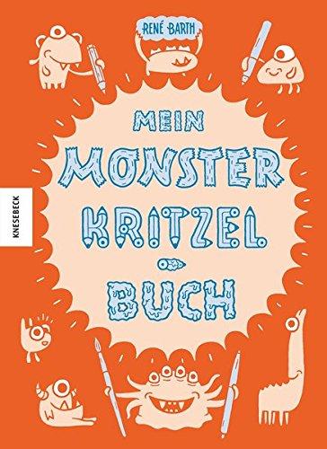 9783868737615: Mein Monsterkritzelbuch