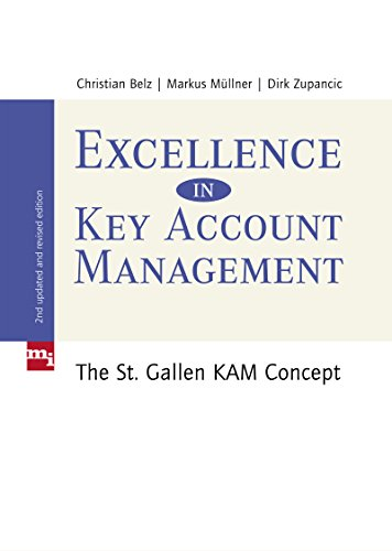 9783868801125: Excellence in Key Account Management: The St. Gallen KAM concept