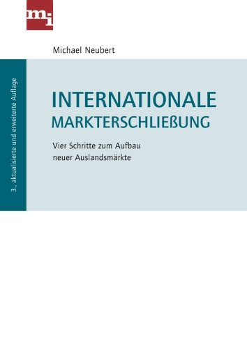9783868801514: Internationale Markterschlie�ung