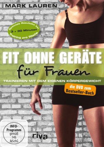 9783868833010: Fit ohne Ger�te f�r Frauen - Trainieren mit dem eigenen K�rpergewicht [Alemania] [DVD]