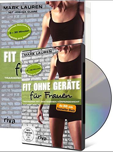 9783868836417: Fit ohne Geräte für Frauen (Buch + DVD - Bundle): Trainieren mit dem eigenen Körpergewicht