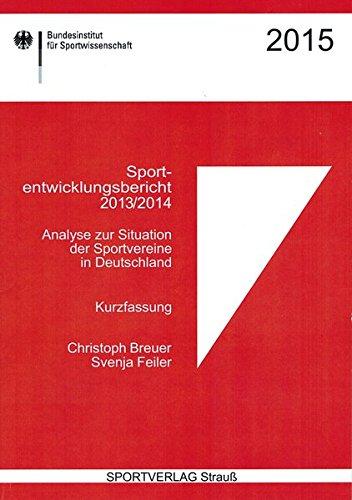9783868845822: Sportentwicklungsbericht 2013/2014