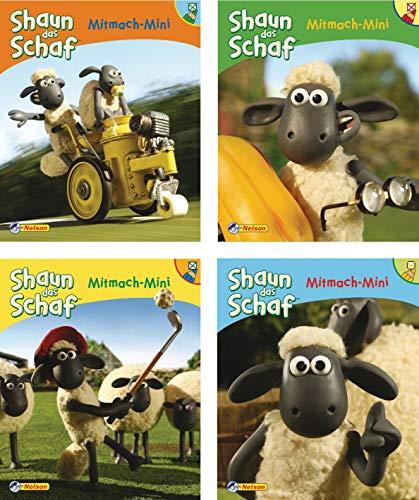 9783868853049: Shaun das Schaf Mitmach-Minis 1-4