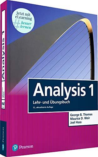 9783868941708: Analysis 1: Mathematik f�r Naturwissenschaftler und Ingenieure inkl. E-Learning MyMathLab Deutsche Version und E-Text