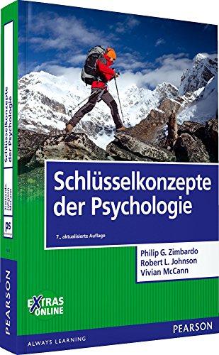 Schlusselkonzepte der Psychologie: Philip G. Zimbardo, Robert L. Johnson, Vivian McCann