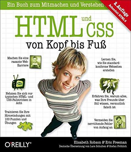 9783868999341: HTML und CSS von Kopf bis Fu�