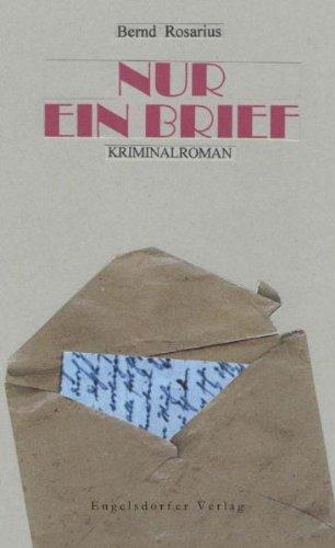 9783869014647: Nur ein Brief: Kriminalroman