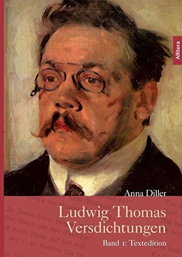 9783869066516: Ludwig Thomas Versdichtungen (German Edition)