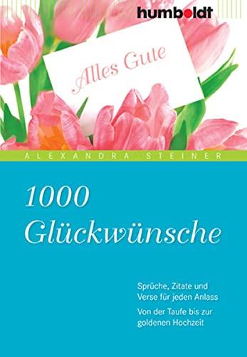 9783869100289 1000 Glückwünsche Sprüche Zitate Und Verse