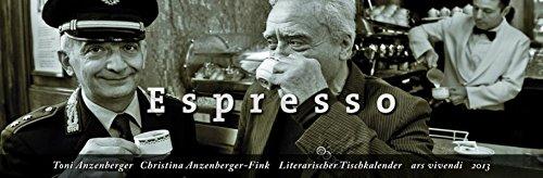 9783869131276: Literarischer Tischkalender Espresso 2013