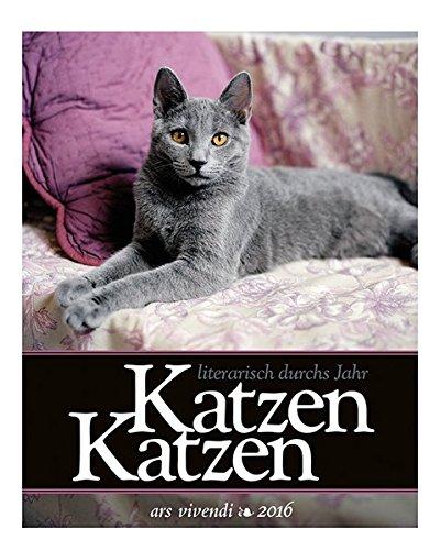 9783869135557: Literarischer Katzen-Kalender 2016