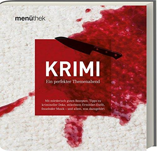 9783869135908: Menüthek Krimi: Ein perfekter Themenabend