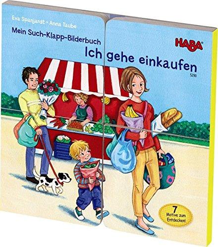 9783869140629: Mein Such-Klapp-Bilderbuch - Ich gehe einkaufen
