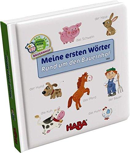 9783869140810: Bildw�rterbuch: Meine erste Spielwelt Bauernhof - Meine ersten W�rter � Rund um den Bauernhof