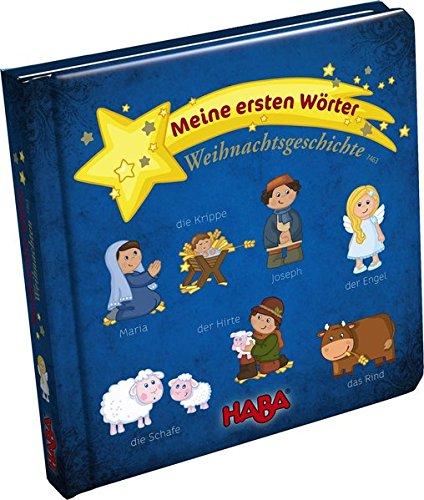 9783869140896: Bildwörterbuch: Meine ersten Wörter - Weihnachtsgeschichte
