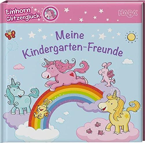 9783869141343: Einhorn Glitzerglück - Meine Kindergarten-Freunde