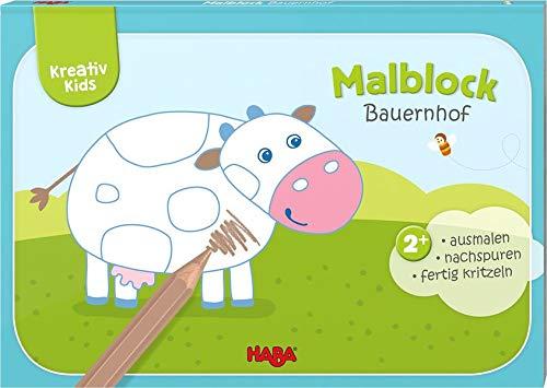 Kreativ Kids – Malblock Bauernhof