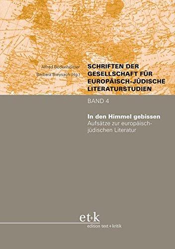 9783869161495: In den Himmel gebissen: Aufsätze zur europäisch-jüdischen Literatur