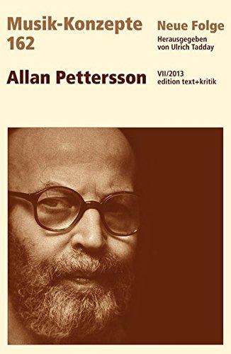 9783869162751: Allan Pettersson