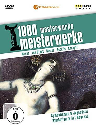 1000 Meisterwerke - Symbolismus & Jugendstil, 1 DVD : Ferdinand Hodler, Alfons Mucha, Arnold Böcklin, Fernand Khnopff, Franz von Stuck. Dtsch.--Engl. - Reiner E. Moritz