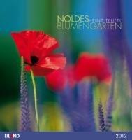 9783869261096: Noldes Blumengarten 2012. Postkartenkalender: Mit 13 Farbpostkarten