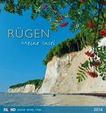 9783869262222: Rügen - Meine Insel 2014: Mit 13 Panorama-Farbpostkarten. Long-Eiland-Kalender