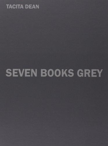 9783869302997: Tacita Dean: Seven Books Grey