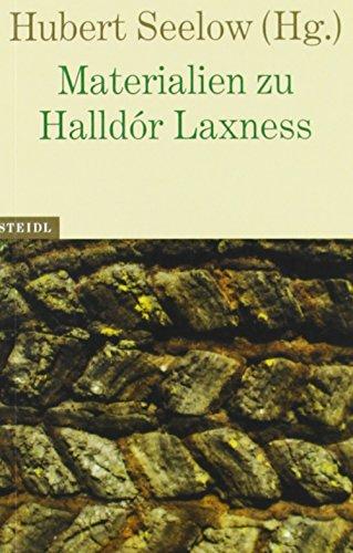 9783869304090: Materialien zu Halldór Laxness
