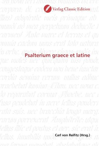 9783869322933: Psalterium graece et latine (German Edition)