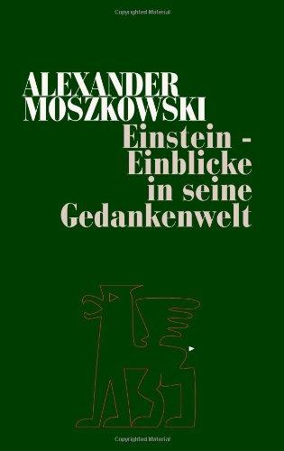 9783869392219: Einstein - Einblicke in seine Gedankenwelt