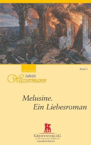 9783869392912: Melusine, Ein Liebesromam - Band 1