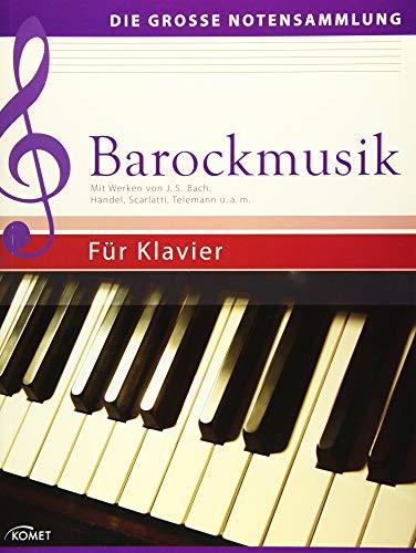 9783869414638: Barockmusik: Mit Werken von J.S. Bach, H�ndel, Scarlatti, Telemann u.a.m. - F�r Klavier