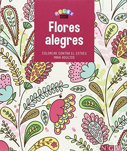 9783869416656: Flores alegres: Colorear contra el estrés para adultos