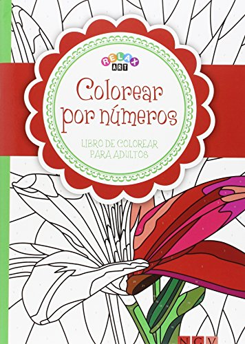 9783869416700: Colorear por números: Libro de colorear para adultos