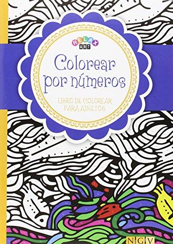 9783869416717: Colorear por números: Libro de colorear para adultos ...