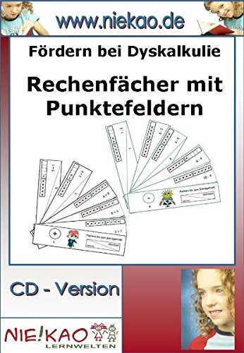 9783869530987: Fördern bei Dyskalkulie Rechenfächer mit Punktefeldern: CD - Version