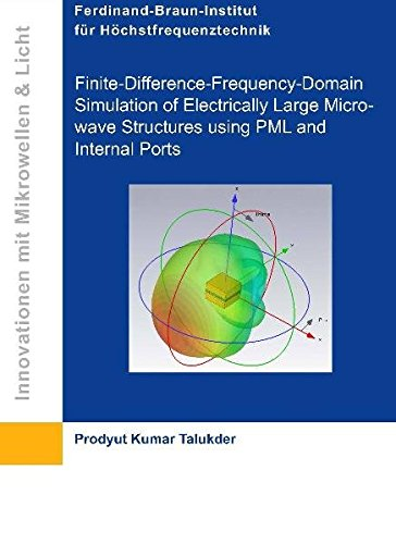 Finite-Difference-Frequency-Domain Simulation of Electrically Large Microwave Structures