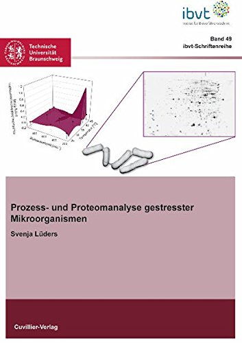 9783869554358: Prozess- und Proteomanalyse gestresster Mikroorganismen