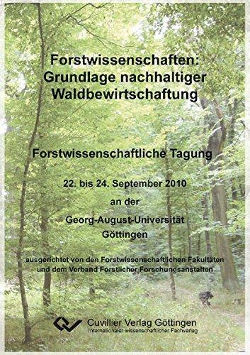 9783869554822: Forstwissenschaften: Grundlage nachhaltiger Waldbewirtschaftung