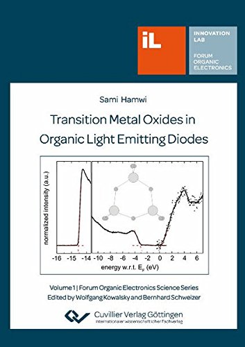 9783869554846: Transition Metal Oxides in Organic Light Emitting Diodes