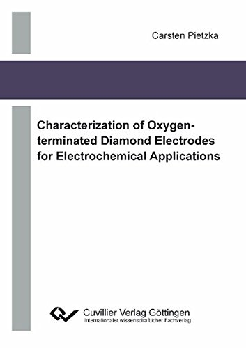 9783869557090: Characterization of Oxygen-terminated Diamond Electrodes for Electrochemical Applications