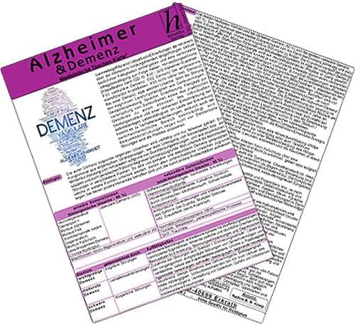 9783869571362: Alzheimer & Demenz - Medizinische Taschen-Karte