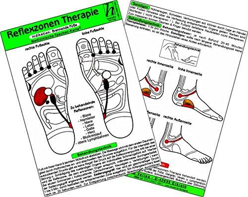 9783869571669: Reflexzonen - Indikation: Husten / Medizinische Taschen-Karte