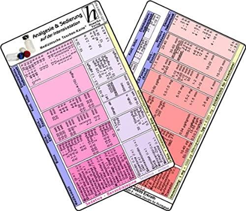 9783869572277: Analgesie & Sedierung auf der Intensivstation - Medizinische Taschen-Karte