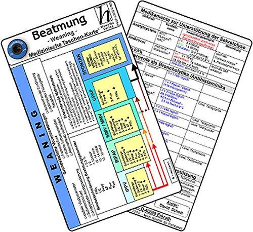 9783869572543: Beatmung -Weaning- Medizinische Taschen-Karte
