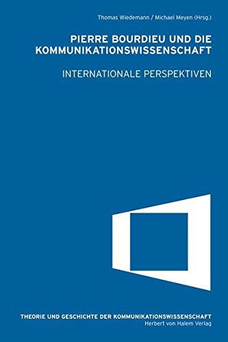 9783869620862: Pierre Bourdieu und die Kommunikationswissenschaft. Internationale Perspektiven