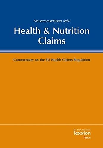 9783869651330: Health & Nutrition Claims: Commentary on the Health Claims Regulation
