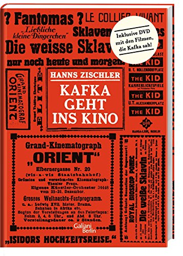 Kafka geht ins Kino (Hardback): Hanns Zischler