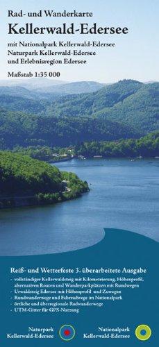 9783869730080: Kellerwald - Edersee 1 : 35 000: Rad- und Wanderkarte mit Nationalpark und Naturpark