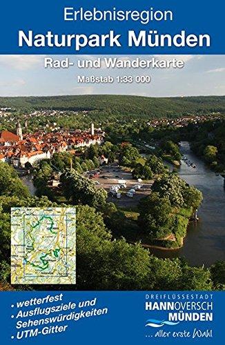 9783869730868: Erlebnisregion Naturpark Münden: Rad- und Wanderkarte